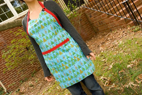 joyful abode holiday apron