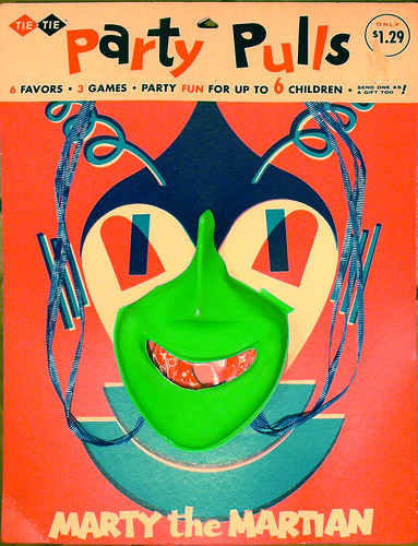 Halloween Marty the Martian Party Pull, 1962