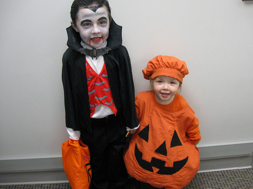 Keaton and Natalie - Halloween 2008
