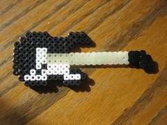 Perler Beads Guitar (Kid's Birthday Parties) Tags: kids beads guitar crafts kidscrafts fusebeads hamabeads perlerbeads