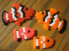 Perler Beads School of Fish (Kid's Birthday Parties) Tags: fish kids beads crafts hama kidscrafts schooloffish fusebeads hamabeads perlerbeads