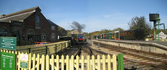 IOW Railway (JSi2) Tags: train stitch pano railway steam isleofwight 2008 iow jsi2