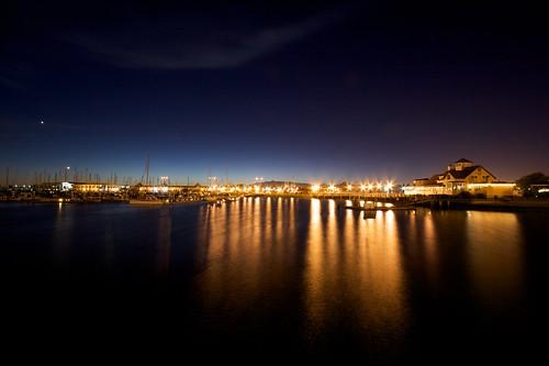 Richmond Marina At Night