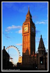 Typically London II (Gibmetal77) Tags: inglaterra england london tower clock westminster tyson torre unitedkingdom housesofparliament londoneye bigben ferris lee londres reloj holmes noria reinounido palaceofwestminster 450d theunforgettablepictures gibmetal77