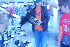 [インラインチャレンジ2008]新しいスケート靴