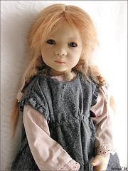 Lisi Himstedt (MiriamBJDolls) Tags: 2003 doll vinyl mohair limitededition lisi annettehimstedt himstedtkinder