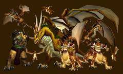 Bronze dragonflight (UnderworldDragon-rex) Tags: bronze one dragons warcraft timeless dragonflight nozdormu