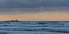 Stormy evening at Feistein Lighthouse (galar71) Tags: ocean lighthouse storm norway geotagged waves stormy fyr jren hellest helleststranden feistein rogland geo:lat=58842219 geo:lon=556067