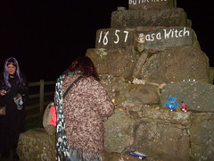 Picture 018 (rickiemclaughlan) Tags: halloween stirling perthshire crosses witches witchcraft pagans dunning burnedatthestake maggiewalls witchescross