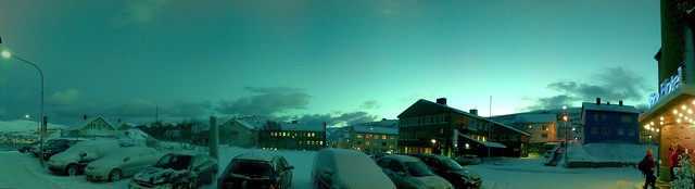 Morning panorama, Hammerfest