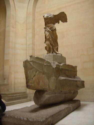 Museo del Louvre, Victoria de Samotracia