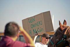 IMG_6655 Barack Obama Rally at Bonanza High School, Las Vegas (nabila4art) Tags: people lasvegas crowd huge barackobamarally bonanzahighschool