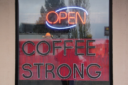 Coffee Strong - Open
