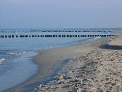 morning beach (jomaot) Tags: morning travel shadow sea sunlight beach water strand sand reisen wasser day clear simplicity ostsee morgen schatten zingst entspannung erholung ruhe sonnenlicht jomaot