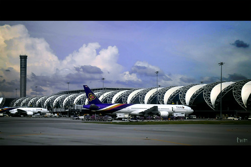 Suvarnabhumi Airport, One Month Before Closure
