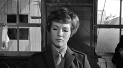 Julie Andrews in The Americanization of Emily (1964) #7 (Classic_Movie_Gals) Tags: girls woman hot sexy classic film beautiful movie photo emily women uniform andrews julie gorgeous tie blouse badge hollywood the starlets americanization