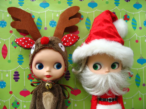 Rosie the Red Nosed Reindeer and Hollywood Claus by chantastic
