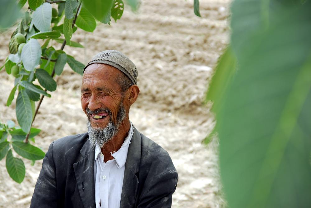新疆人笑了