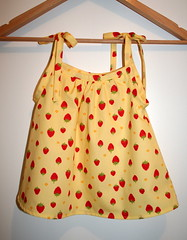 Strawberry baby dress