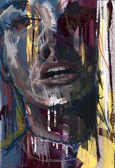 unfinished_1 (BREakONE) Tags: wood painting acrylic break spray oilstick breakone