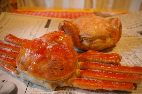 タラバガニ&毛蟹