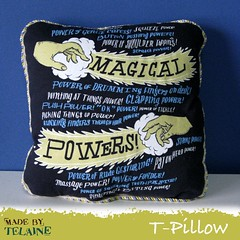 Magical Powers T-Pillow