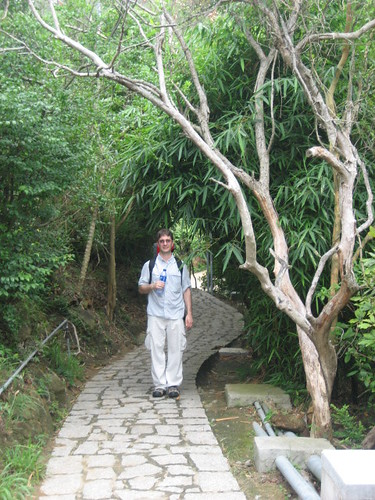 William on Lamma Island Path
