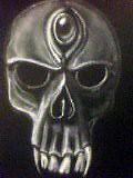 skull on back of guitar (chaptlps) Tags: skulls guitar airbrush