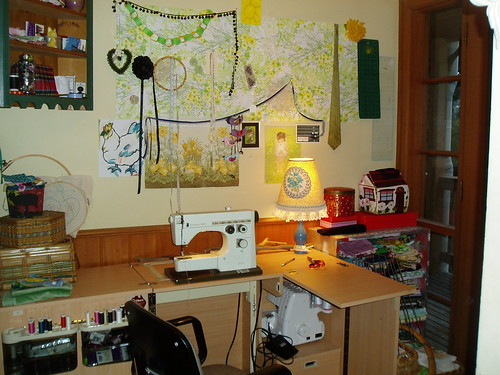 Sewing room tidy!