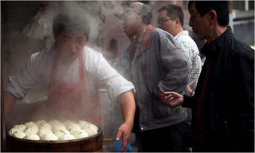 【纽约时报】从染色馒头看中国食品安全