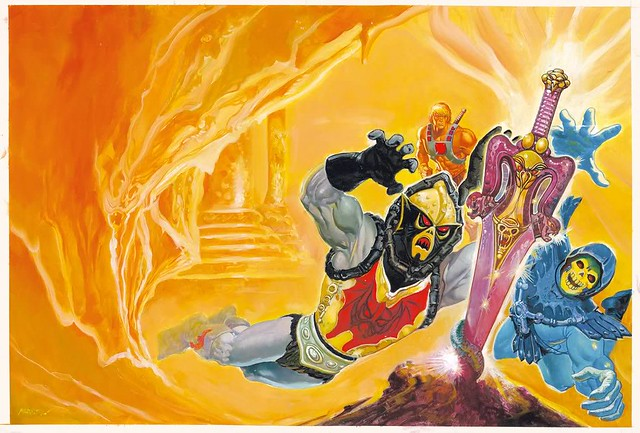 Masters Of The Universe - 25 (painting by Esteban Maroto)