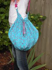 One Yard Wonder Scrunchie Bag