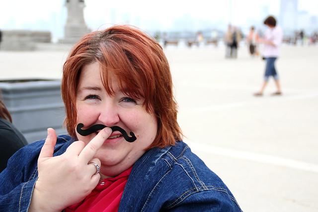 paige moustache