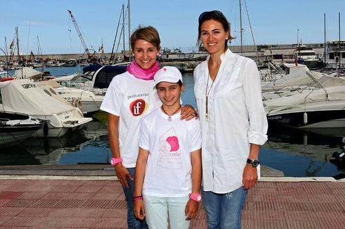 con Natalia Via-Dufresne y Victoria