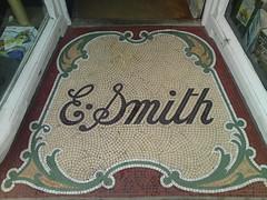 E Smith (The original SimonB) Tags: shop words suffolk floor mosaic tiles script woodbridge esmith