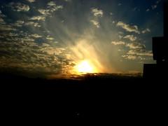as the song says... (Willful*Suspension*of*Disbelief) Tags: sunset sky azul clouds evening lyrics dusk cielo nubes nightfall songlyrics theheavens heavensgonnaburnyoureyes