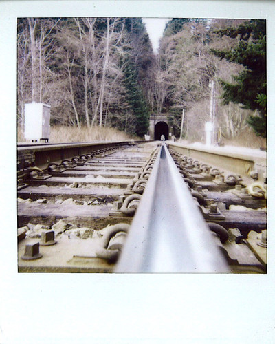 Train Polaroid