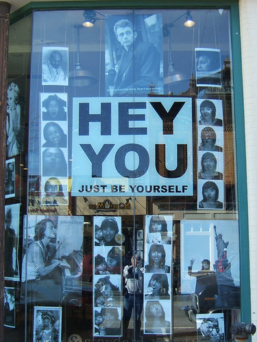 Hey You, Just Be Yourself, James Dean, (1 of 3)