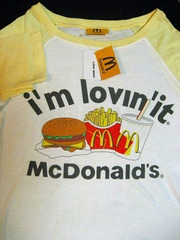 LOVE BOAT McDonald's T-shirt