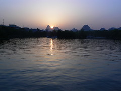 Sunset in Guilin