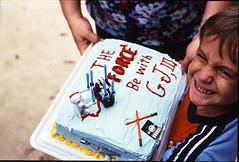 My Awesome Birthday Cake, 1980 (G. J. Charlet III) Tags: starwars