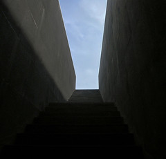exit. (*northern star) Tags: blue shadow sky italy black museum stairs canon grey step mobilephone napoli museo exit madre northernstar neaples donnaregina donotsteal allrightsreserved northernstarandthewhiterabbit northernstar usewithoutpermissionisillegal northernstarphotography ifyouwannatakeitforpersonalusesnotcommercialusesjustask