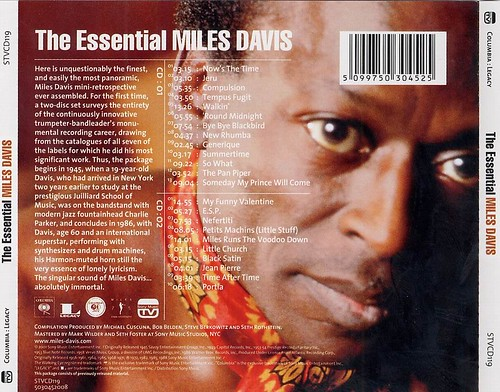 The Essential Miles Davis image