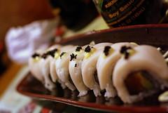 The Russian Roll (Jamesia) Tags: vegas sun sushi maki salmon roll nigiri uni spicy tuna hamachi temaki gunkan sakke amaebi
