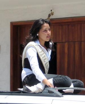 Queen candidate