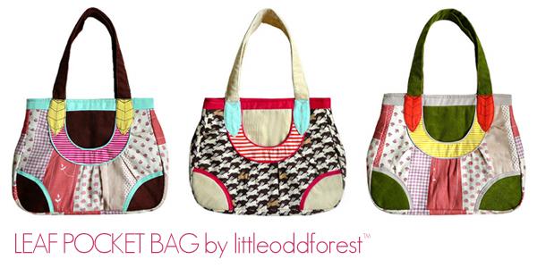 Leaf Pocket Bag