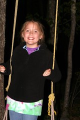 Leah swinging