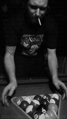 Racked (Culture:Subculture) Tags: portrait people usa man history pool tattoo photography cool louisiana punk cigarette neworleans culture bodylanguage nightclub hardcore frenchquarter billiards feature confident symbolic offbeat greyscale sociology humaninterest stoic irreverent actuality lifeasart flannagans chadhedrick noapologies craigmorse culturesubculture paintribe blackandwhiteblackandwhitebw blancoynegroblancoynegro thevoiceofeye neroebianconeroebianco noiretblancnoiretblanc pretoebrancopretoebranco schwarzesundweischwarzesundwei zwarteenwitzwarteenwit johnnymancuso casinoandgambling