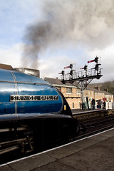 North Yorkshire Moors Railway - Sir Nigel Gresley