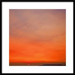 Sunset strip... (Julian E...) Tags: sunset red sky orange sun nature composition d50 nikon bravo minimal cezanne firstquality imagepoetry artlibre anawesomeshot goldenphotographer megashot thegardenofzen thegoldendreams vision100